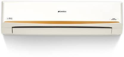 Sansui 1.5 Ton 3 Star Split Dual Inverter AC with PM 2.5 Filter - White, Gold  (SAC153SIAP, Copper Condenser) @28,490