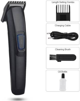 Crasts CHT-522 Rechargeable Hair Trimmer Runtime: 45 min Trimmer for Men & Women  (Black) @375