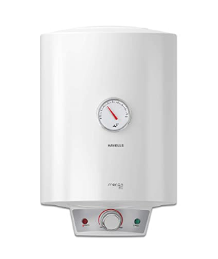 Havells Monza EC 25-Litre Storage Water Heater with Flexi Pipe (White) @7,908