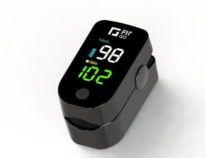 Fit Go S02 Pulse Oximeter  (Black) @599