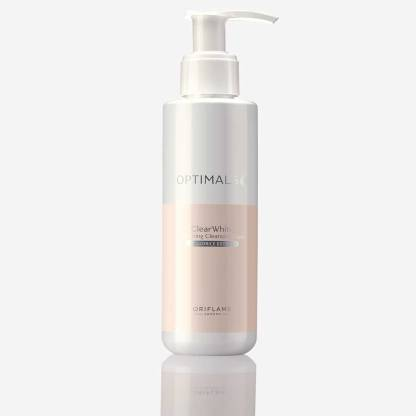 Oriflame optimals clear white cleanser  (150 ml) @330