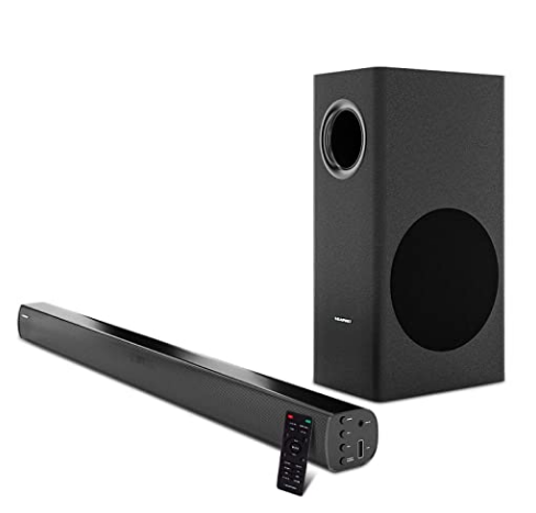 Blaupunkt Germany's SBW100 120W Wired Dolby Soundbar with Subwoofer, Bluetooth and HDMI Arc @7,449