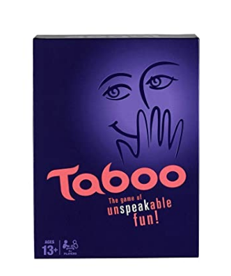 CBOX Gaming Taboo Board Game, Guessing Game for Families and Kids Ages 13 and Up, 4 Or More Players @749