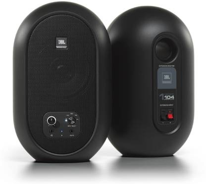 JBL Professional 104 Compact Desktop Reference 60 W Bluetooth Studio Monitor  (Black, Stereo Channel) @4,999