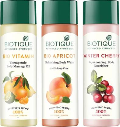 BIOTIQUE Complete Body care  (3 Items in the set) @495