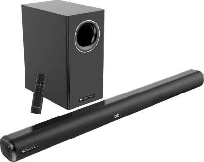 ZEBRONICS Juke bar 5000 pro 120 W Bluetooth Soundbar  (Black, 2.1 Channel) @7,999