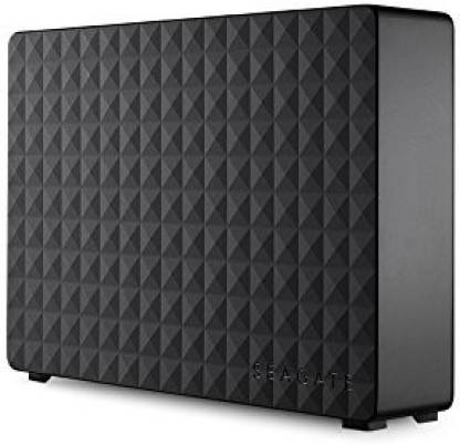 Seagate 4 TB Wired External Hard Disk Drive  (Black, External Power Required) @7,199