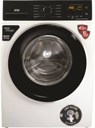 IFB 6.5 kg 5 Star Fully Automatic Front Load with In-built Heater White  (ELENA ZX) @30,490