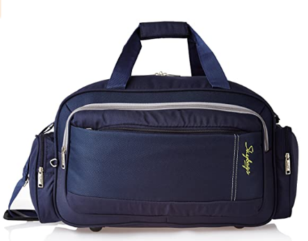 Skybags Cardiff Polyester 55 cms Blue Travel Duffle (DFCAR55BLU) @999