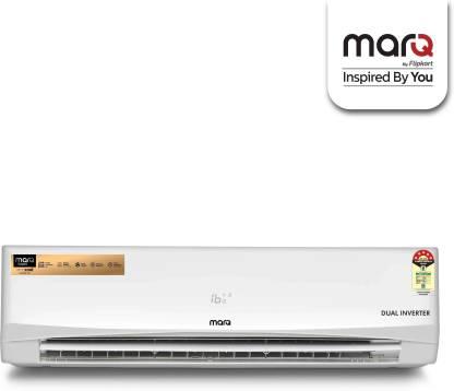 MarQ By Flipkart 1.5 Ton 5 Star Split Dual Inverter Engineered with Panasonic Technology AC - White  @32,290