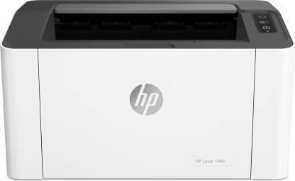 HP Laser 108 w Single Function WiFi Monochrome Laser Printer  (White, Grey, Toner Cartridge) @11,299