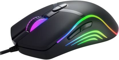 Redgear F-15 Wired Optical Gaming Mouse  (USB 2.0, USB 3.0, Black) @599