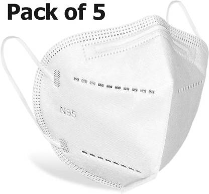 DALUCI N95 / KN95 FFP2 5 Layer Reusable,Washable, Anti - Pollution , Anti - Virus Breathable Face Mask Wth 5 Layer @155