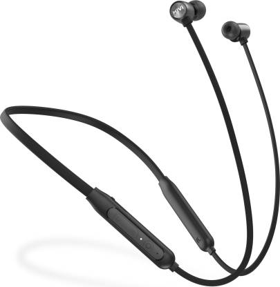 Mivi Collar Classic Neckband with Fast Charging Bluetooth Headset  (Black, In the Ear) Pre-Book Deal 799 Ru.
