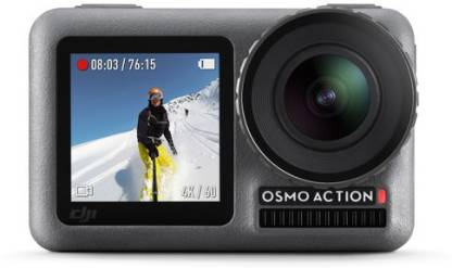 dji Osmo Osmo Action Sports and Action Camera  (Grey, Silver, 12 MP) @20,200