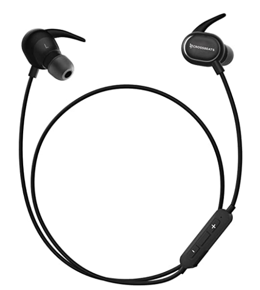 CrossBeats Pulse IPX5 Bluetooth in-Ear Sports Noise Cancelling Headphones with Built-in Mic, 8 Hours Playtime @1,599